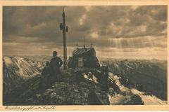 Postkarte-Wendelinkapelle-Birkmeyer-Kupferdruck