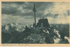 Postkarte-Wendelinkapelle-um-1927-Kupferdruck